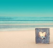 Beach Remembrance Candle by CarlyMarie