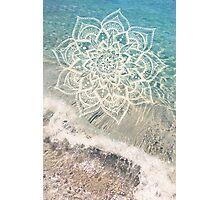 Ocean Mandala Photographic Print