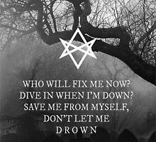 Bring Me the Horizon Drown Print by EarthToViktoria