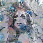 Blue Rose Lady by ArtByRuta