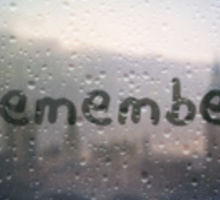 remember Sticker