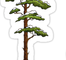 Fur Tree Sticker