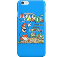 Super Mari-O's - Breakfast of Superstars!! iPhone Case/Skin