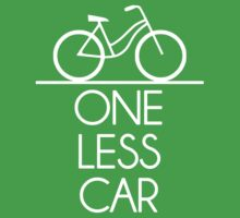 One Less Car Earth Friendly Bicycle by TheShirtYurt