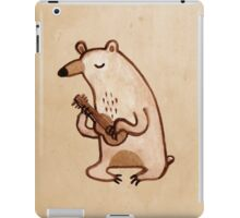 Ukulele Bear iPad Case/Skin