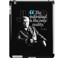 A Quote from Carl Gustav Jung Quote #5 of 50 available iPad Case/Skin