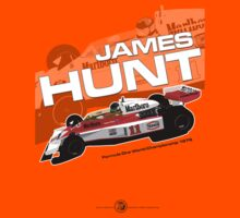James Hunt - F1 1976 T-Shirt