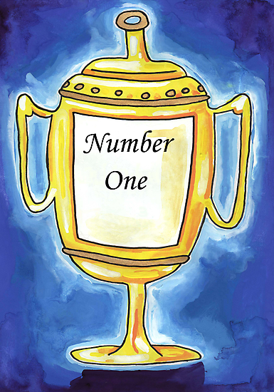 Trophy - Number One... by John Douglas