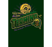 Greetings from Termina! Photographic Print