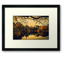 Autumn Reflections at Belvedere Castle Framed Print