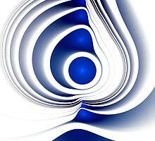 Blue Imprint by Anastasiya Malakhova