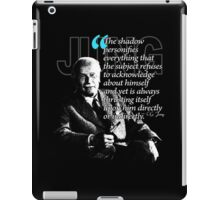 A Quote from Carl Gustav Jung Quote #42 of 50 available iPad Case/Skin