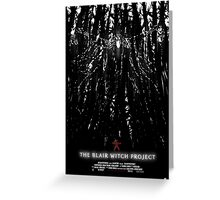 The Blair Witch Project Greeting Card