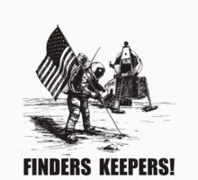 Finders Keepers Moon Landing T-Shirt