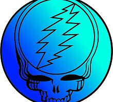 Grateful Dead Deadhead Blue by Budnick3000