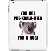 Pre Koala Qualified Hug iPad Case/Skin