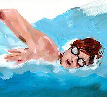 Swimmer to a Winner by Jason Edward Davis