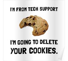 Tech Support Cookies Poster