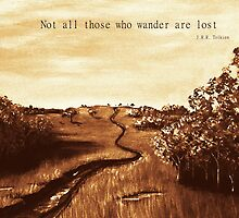 Not all Those who Wander are Lost by Anastasiya Malakhova