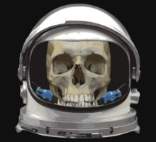 Space Helmet Astronaut Skull by TheShirtYurt