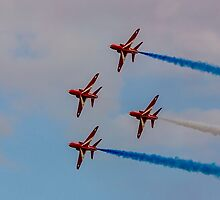 Red Arrows 12 by David Charlton