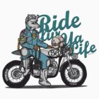 Ride fur ya life: Wolfman by Siegeworks .