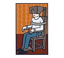 My comfy chair Photographic Print