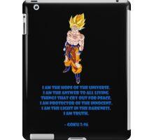 Goku 3:96 iPad Case/Skin