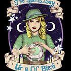 Mystic Miss Maggie Esmerelda (color) by marlene freimanis