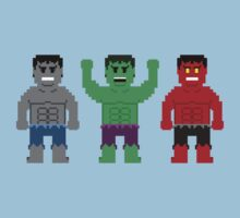 8-Bit Super Heroes 6: ANGRY! by AlCreed