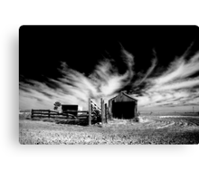 Pats' shed Canvas Print