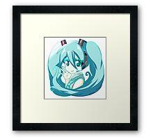 Hatsune Miku Framed Print