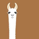 A LLAMA PORTRAIT by Jean Gregory  Evans