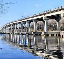 Roanoke River Bridge by WeeZie