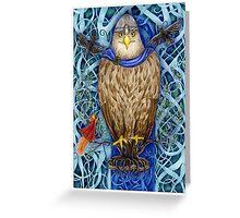 Dwellers of Yggdrasil Greeting Card