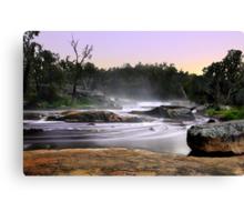 Noble Falls At Dawn Canvas Print