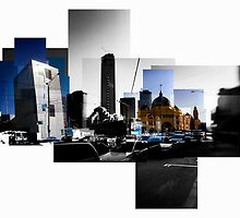 Flinders Street, Melbourne by thescatteredimage