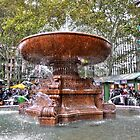 Copper Water Fountain...New York City!!! by Poete100