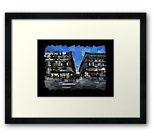 Flinders Lane Framed Print