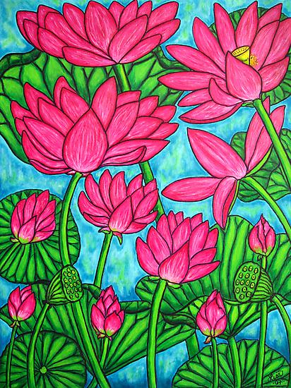 Lotus Bliss by LisaLorenz