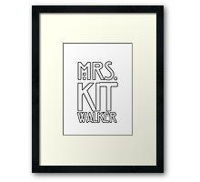KIT Framed Print