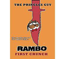 Rambo: First Chip Photographic Print