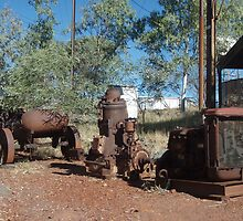 Tennant Creek, NT, Australia - Old Rusty Stuff 1 by tmac