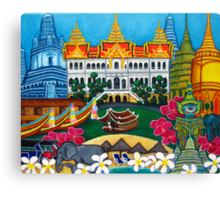 Exotic Bangkok Canvas Print