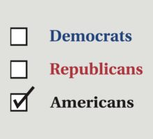Election Ballot - Americans for Light T's by BlueEyedDevil