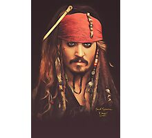 Jack Sparrow | Digital Painting  Photographic Print