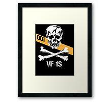 Roy Fokker Skull Squadron Framed Print