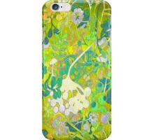 Wacky Retro Floral 2 iPhone Case/Skin