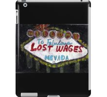 Lost Wages,Nevada iPad Case/Skin