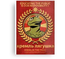 Kremlin The Frog Metal Print